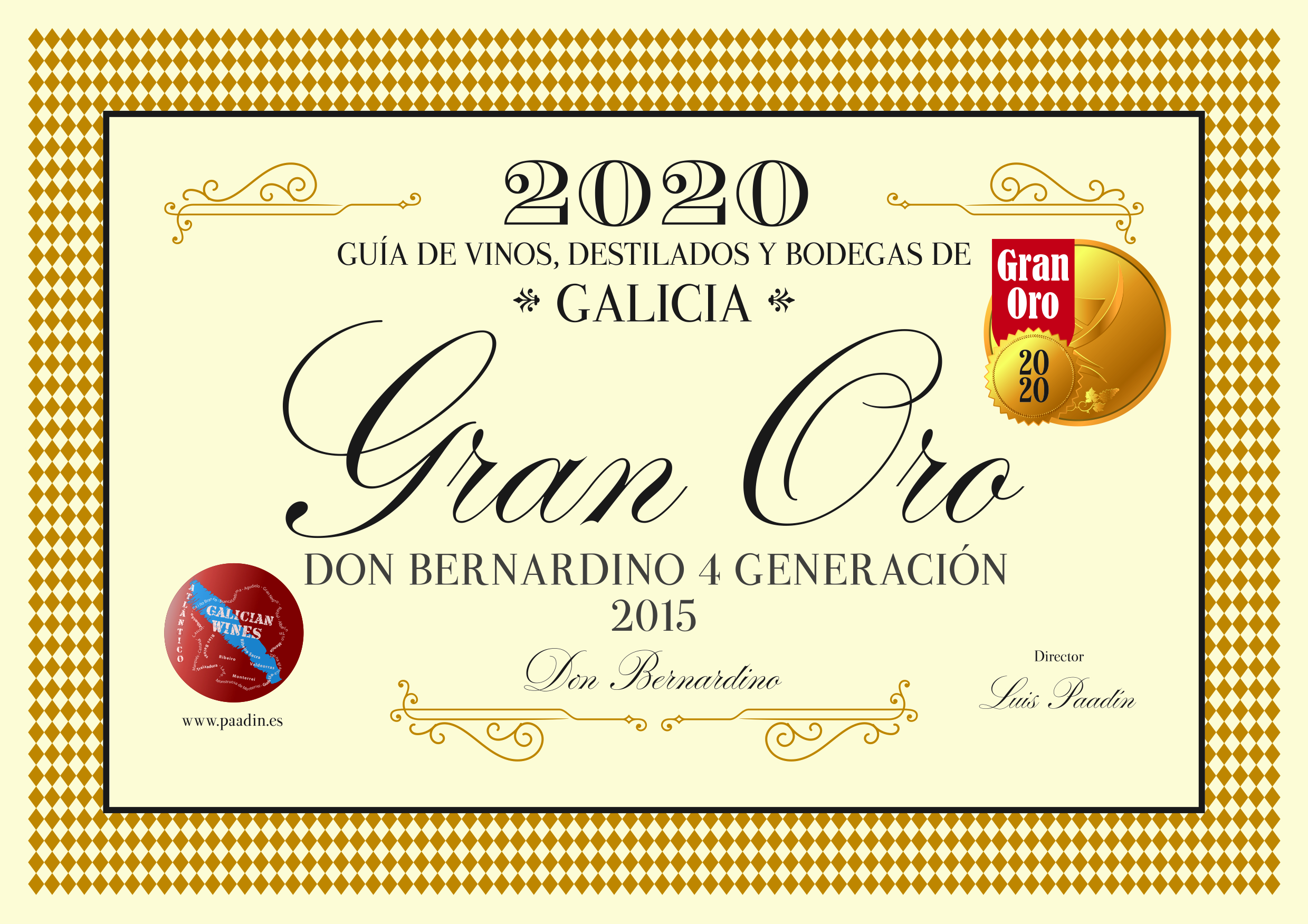 DON BERNARDINO (Premio Gia de vinos 2020)