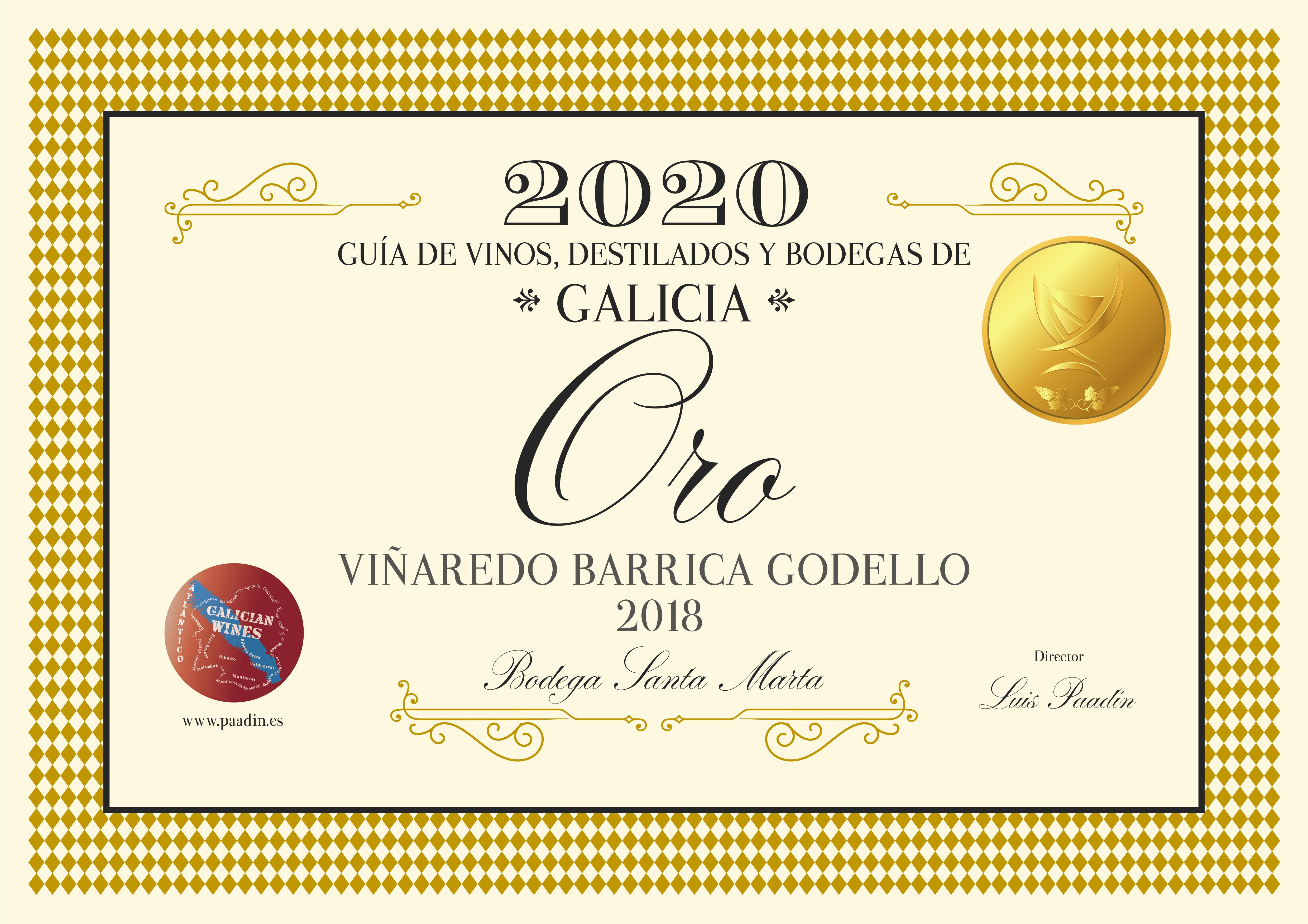 ORO GODELLO BARRICA GUIA 2020