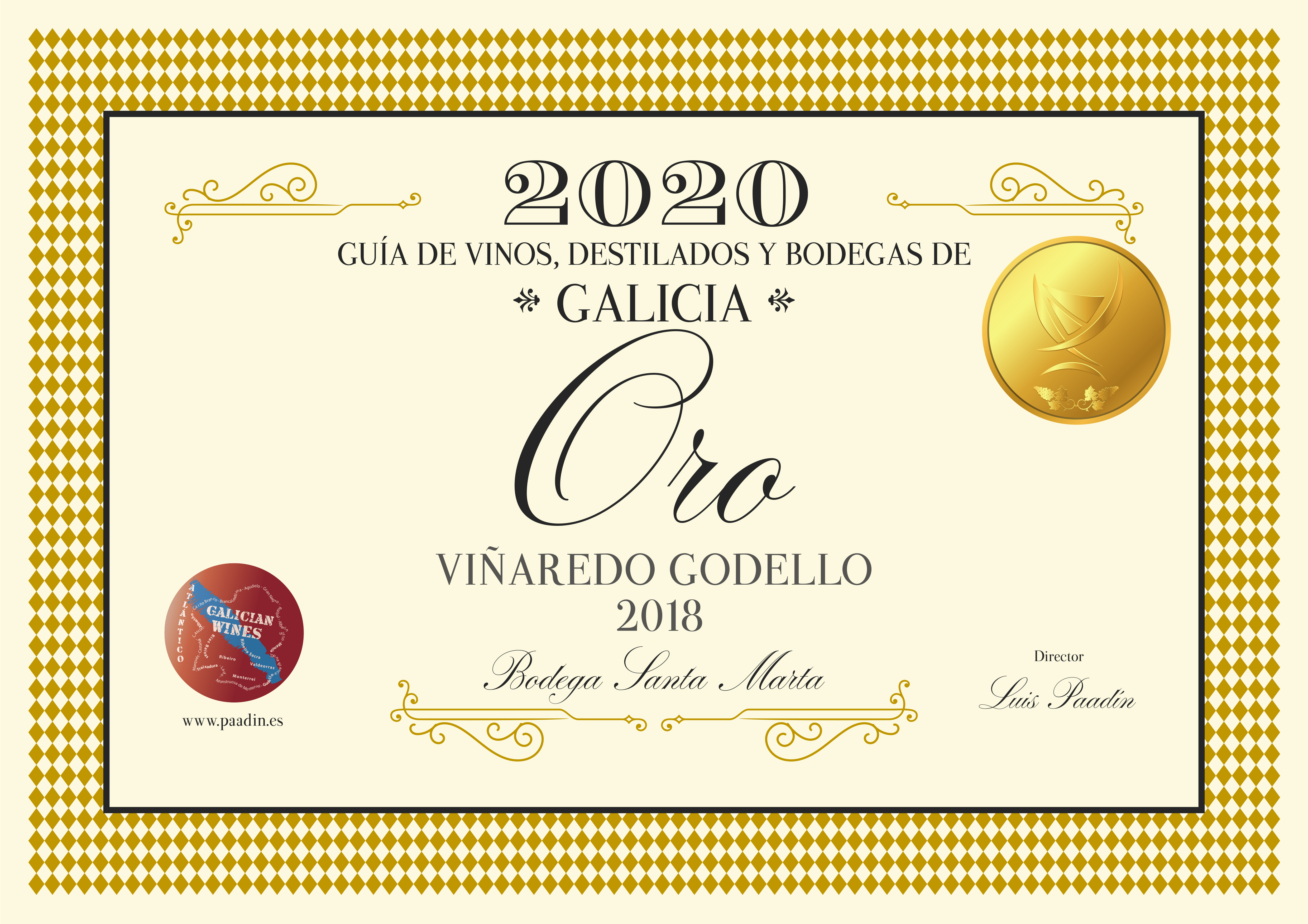 ORO GODELLO GUIA 2020